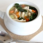 chunky chicken + veggie soup