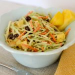 pineapple broccoli slaw