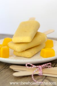 Paleo Mango Lassi Popsicle