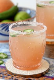 Spicy Honey Grapefruit Margarita - The Whole Smiths - Paleo-ish