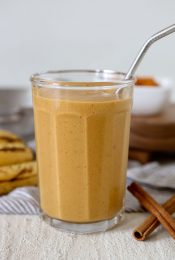 Glass of Pumpkin Pie Smoothie