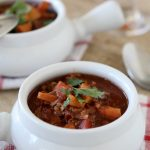Sweet Potato + Chocolate Chili