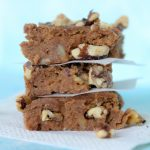 paleo banana blondies