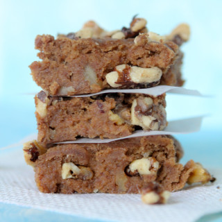 banana blondies gluten free paleo
