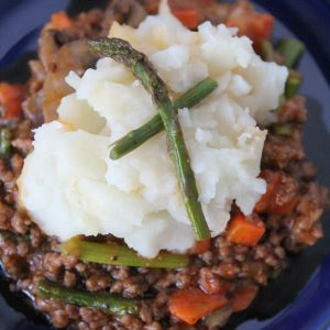 Whole30 Not-So Shepherd's Pie from the Whole Smiths. A perfect recipe for leftovers and a total crowd pleaser! Paleo and gluten-free.