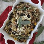 sausage + cauliflower rice thanksgiving stuffing