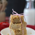 egg nog blondies