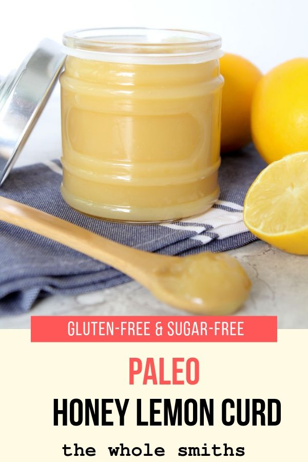 Paleo Honey Lemon Curd Sugar-free