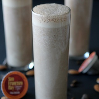 Jamocha Almond Milk from the Whole Smiths. Coffee, chocolate and almonds, what's not to love? Paleo friendly, gluten and dairy free.