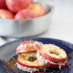 apple + almond butter sandwiches