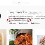 how i doubled the instagram traffic to my blog in one easy step