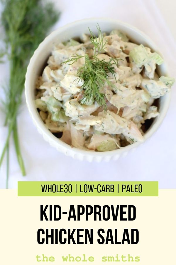 Chicken Salad Pinterest Graphic