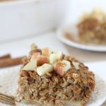 Pumpkin + Apple Oatmeal Bake