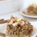Pumpkin + Apple Oatmeal Bake
