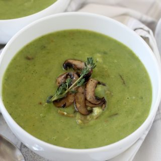An easy-to-make broccoli soup that is paleo friendly, Whole30 compliant and gluten-free.