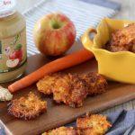 Carrot, Ginger + Apple Fritters