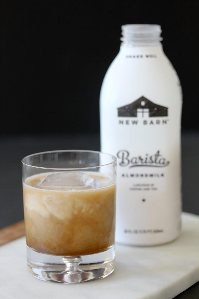 Dairy-Free White Russian from the Whole Smiths. Vegan and paleo friendly cocktail, so yummy!