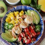 Whole30 Summer Shrimp Salad + Zesty Chipotle Dressing