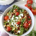 Summer Tomato + Corn Salad