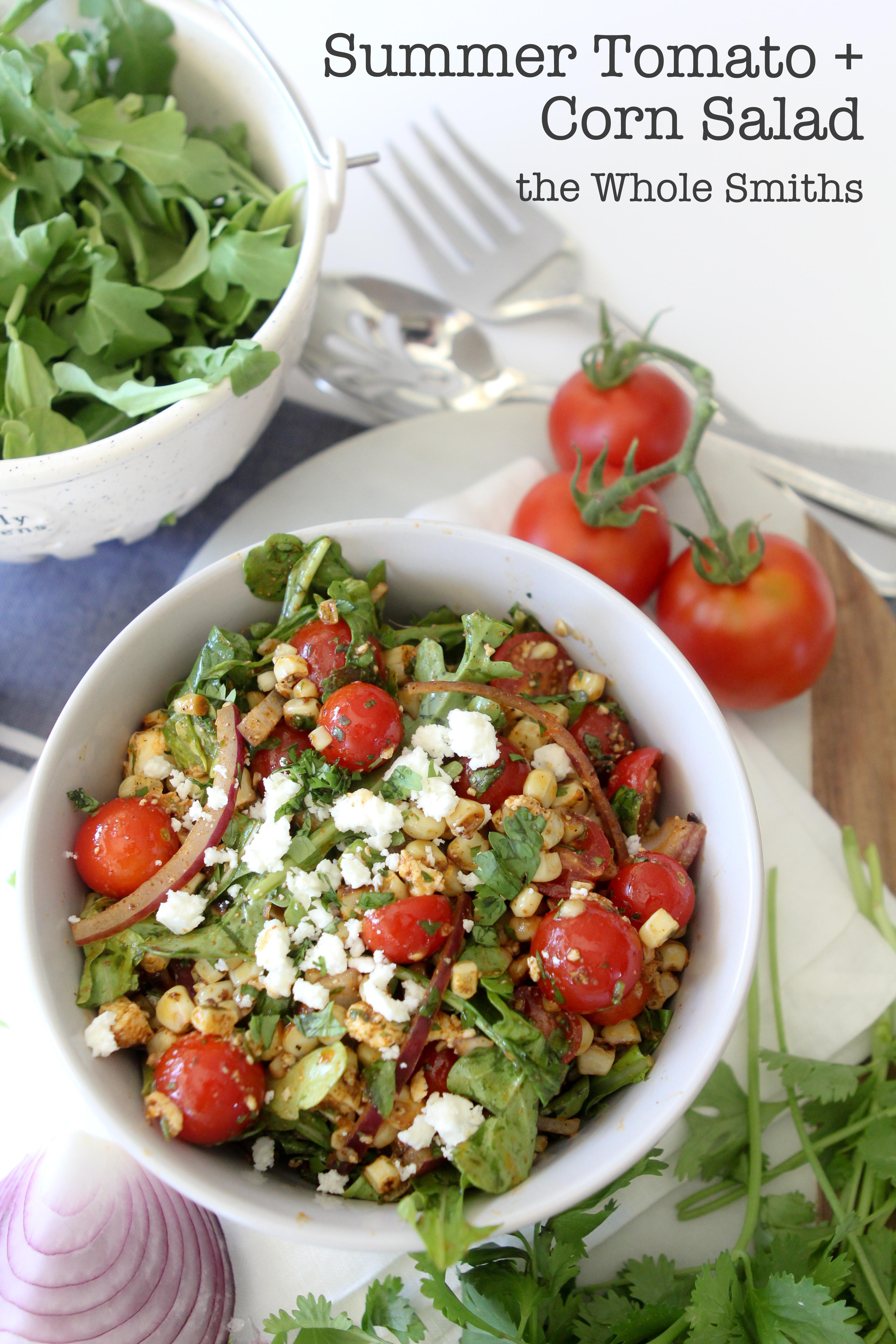 Summer Tomato & Corn Salad