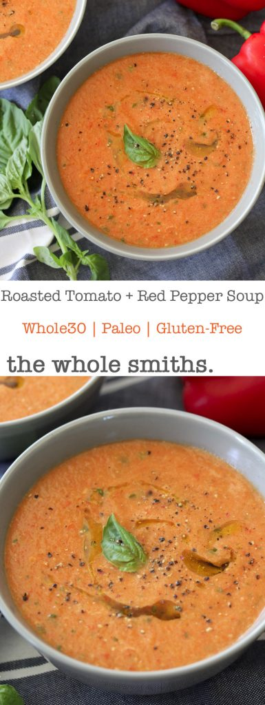 Whole Foods Roasted Tomato Basil Soup