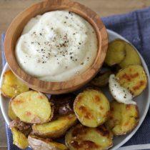 Patatas Bravas + Garlic Aioli