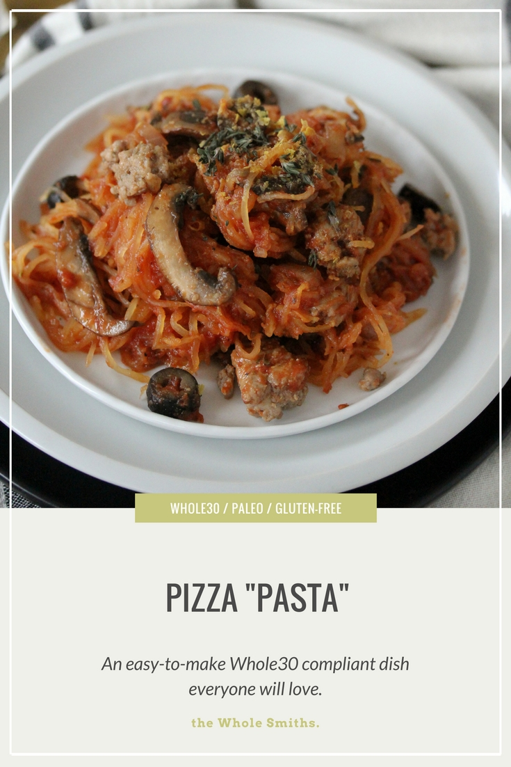 A Pizza Pasta from The Whole Smiths that's sure to be a hit amongst the entire family. Not only is this