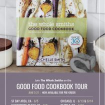 The Whole Smiths Good Food Cookbook Tour 2018