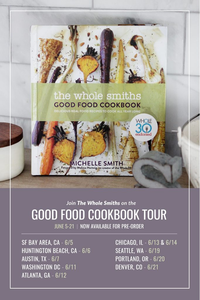 The Whole Smiths Good Food Cookbook Tour