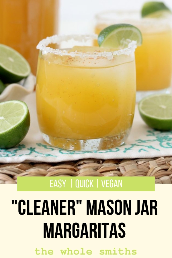 Mason Jar Margaritas Pinterest Graphic