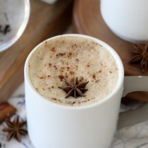 Dairy-Free Dirty Chai Latte