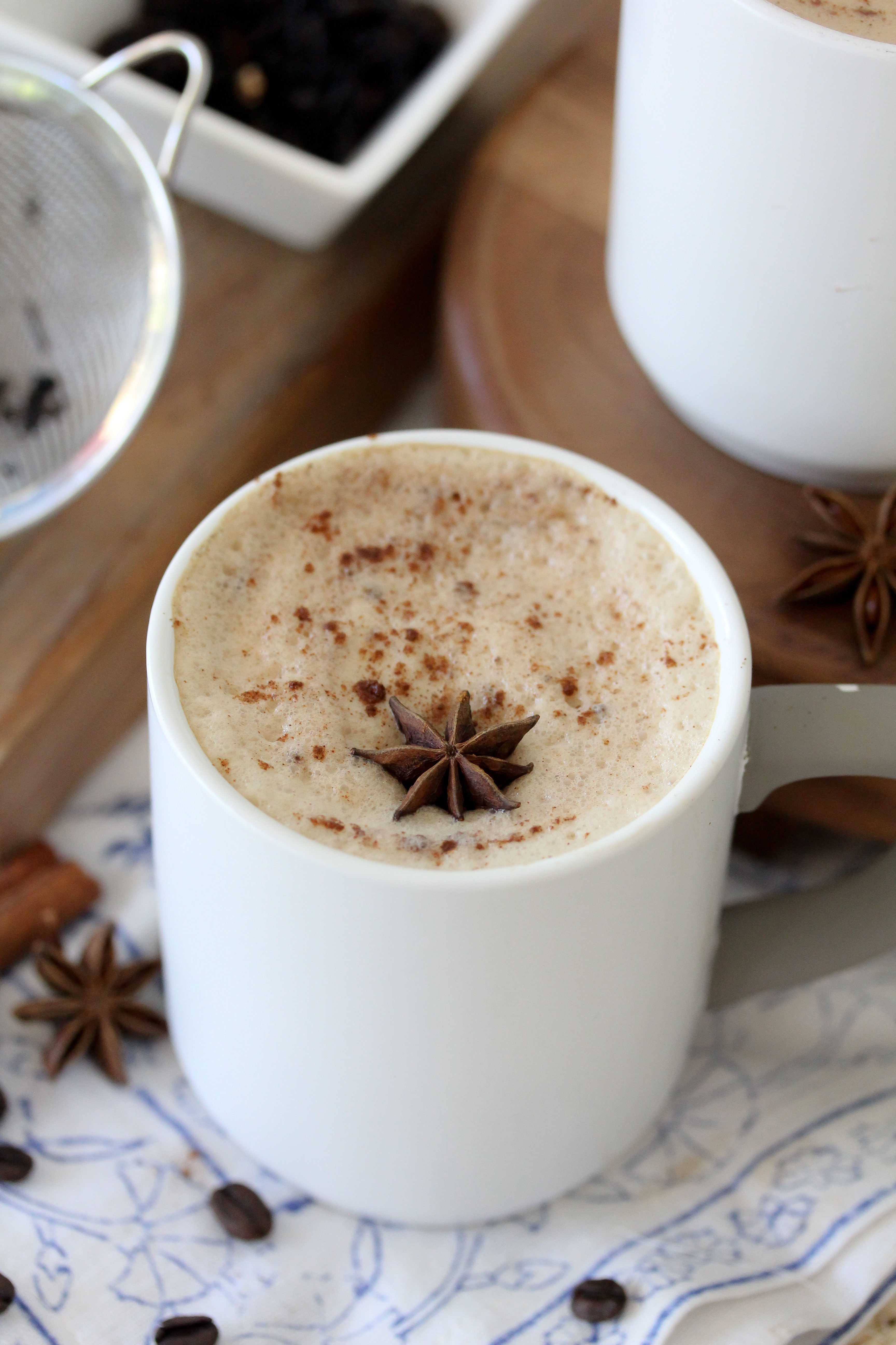 Sides For Dinner: Paleo Dairy-Free Dirty Chai Latte