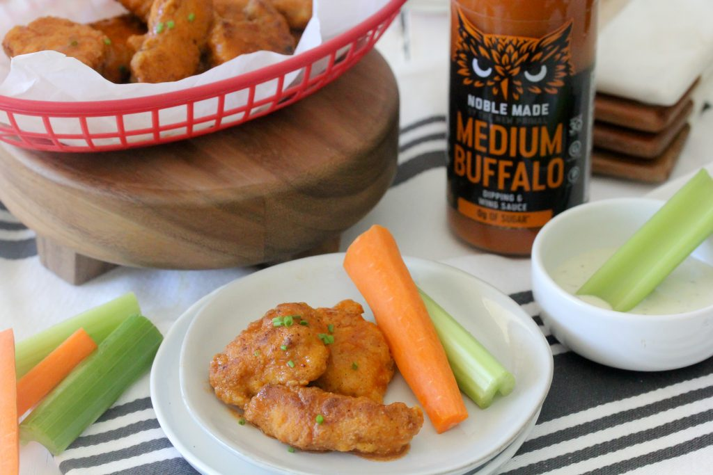 Whole30 Complaint Boneless Buffalo Chicken Bites