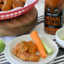 The Whole Smiths + The New Primal Giveaway & Whole30 Grain-Free Boneless Buffalo Chicken