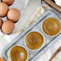Pumpkin Pie Egg Muffins