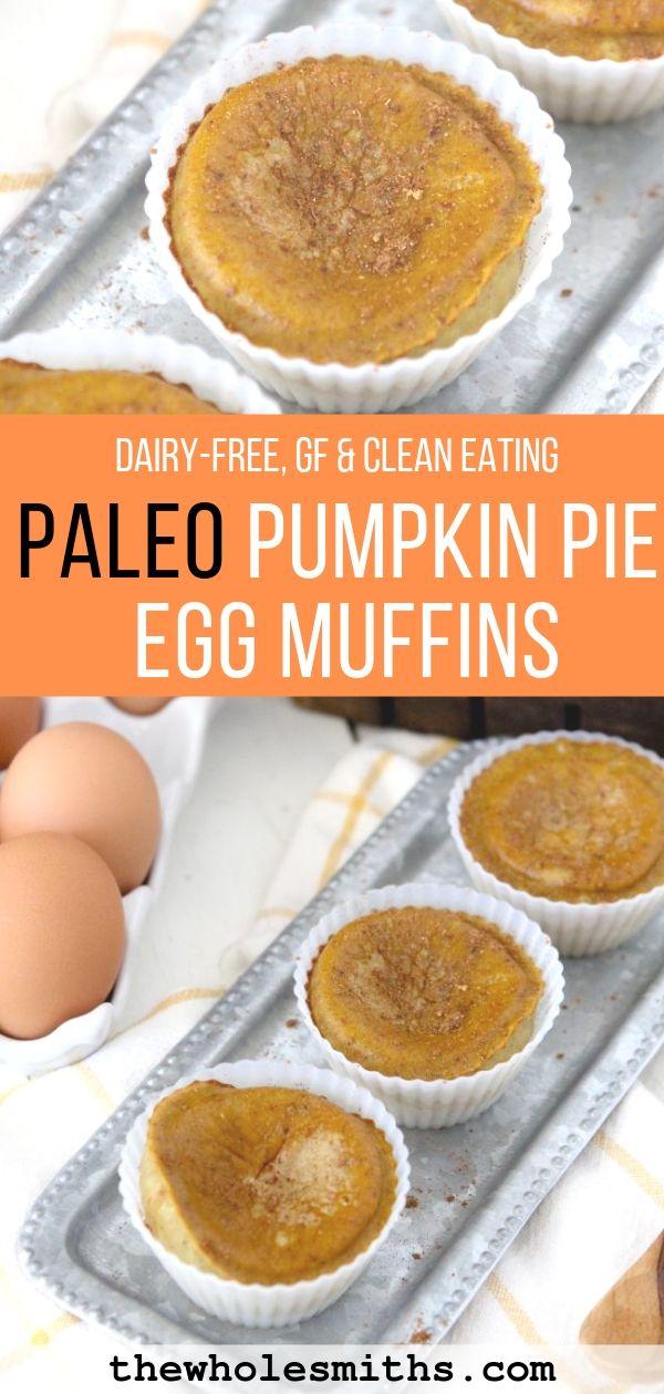 Paleo Pumpkin Pie Egg Muffins