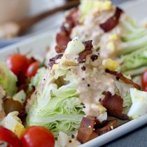 Thousand Island Dressing + Wedge Salad