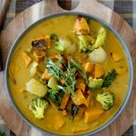 This Pumpkin Curry from The Whole Smiths is the perfect balance of traditional spices and seasonal delight. It's paleo, Whole30, and even vegan.