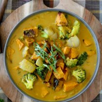 Vegan Pumpkin Curry – Paleo, Gluten-free & Whole30