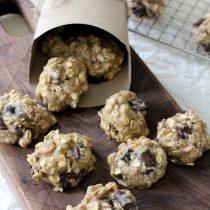 Gluten-Free Chunky Monkey Breakfast Cookie Recipe