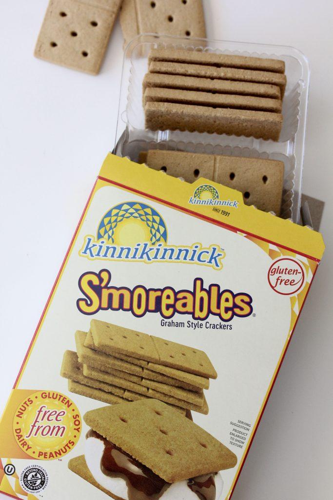 a pack of kinnikkinnick gluten-free crackers