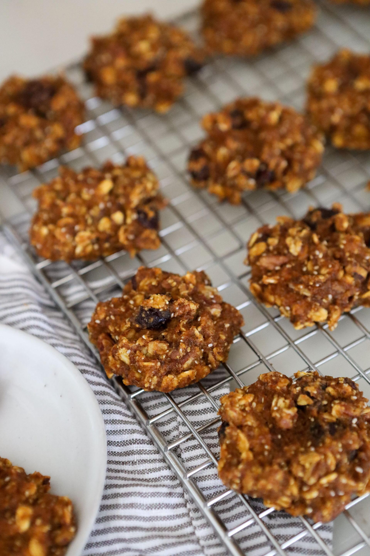 "Gluten-Free Pumpkin Breakfast ""Cookies"""